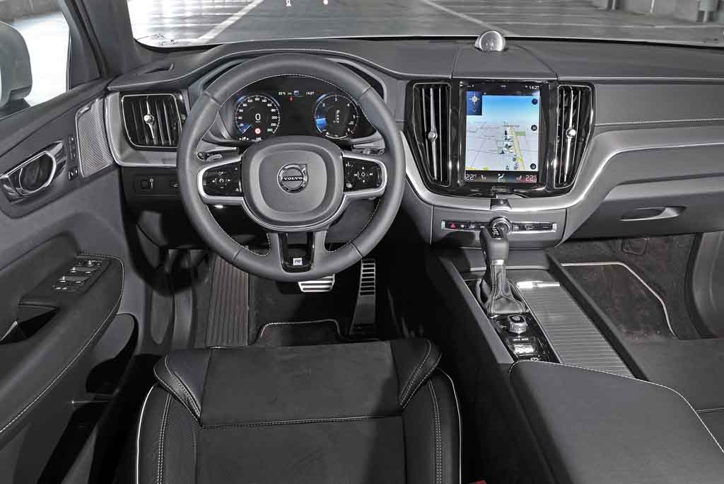 Volvo XC60 R-Design – Innenraum   Foto: VOLVO